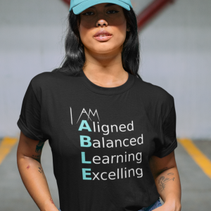 I Am Able Word Power T-Shirt
